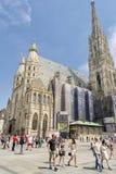 καθεδρικός ναός s ST stephen Βιέννη της Αυστρίας Στοκ εικόνα με δικαίωμα ελεύθερης χρήσης