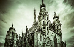 καθεδρικός ναός s ST stephen Βιέννη Στοκ Εικόνες