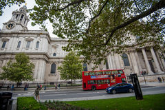 Καθεδρικός ναός Saint-Paul Λονδίνο Στοκ Εικόνες
