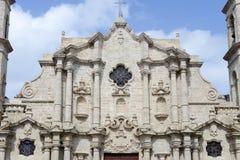 Καθεδρικός ναός SAN Cristobal Plaza de Λα Catedral στην Αβάνα Στοκ φωτογραφίες με δικαίωμα ελεύθερης χρήσης