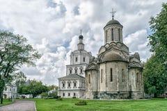 Καθεδρικός ναός Spassky και εκκλησία του Michael ο αρχάγγελος Στοκ φωτογραφία με δικαίωμα ελεύθερης χρήσης