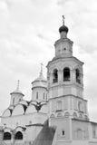 Καθεδρικός ναός Spassky με τον πύργο κουδουνιών στο μοναστήρι Priluki λυτρωτών Στοκ Εικόνες