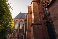 Καθεδρικός ναός ST Bernhard Religious Architecture Be εκκλησιών της Καρλσρούης Στοκ Εικόνα