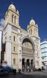 Καθεδρικός ναός St Vincent de Paul στην Τυνησία Στοκ Εικόνες