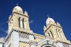 Καθεδρικός ναός St Vincent de Paul στην Τυνησία Στοκ εικόνα με δικαίωμα ελεύθερης χρήσης