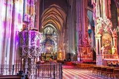 Καθεδρικός ναός Stephansdom, Wien, Αυστρία Στοκ φωτογραφία με δικαίωμα ελεύθερης χρήσης