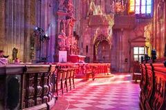 Καθεδρικός ναός Stephansdom, Wien, Αυστρία Στοκ Εικόνες