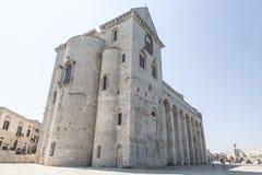 Καθεδρικός ναός Trani στη θάλασσα στην επαρχία του Μπάρι Στοκ φωτογραφίες με δικαίωμα ελεύθερης χρήσης
