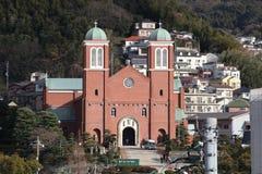Καθεδρικός ναός Urakami στο Ναγκασάκι Στοκ Εικόνες