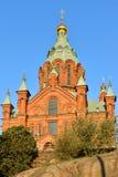 Καθεδρικός ναός Uspensky, Ελσίνκι Στοκ Εικόνες