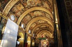 Καθεδρικός ναός Valletta Στοκ Εικόνες