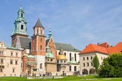 Καθεδρικός ναός Wawel, Κρακοβία στοκ εικόνα
