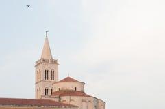 Καθεδρικός ναός Zadar στην Κροατία Στοκ εικόνες με δικαίωμα ελεύθερης χρήσης