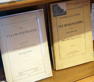 Καθηγητές ο Δρ Αρχικές γραφές Freud Στοκ Φωτογραφία