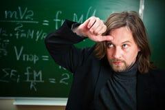 καθηγητής που κουράζετ&al Στοκ Εικόνες