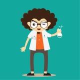 Καθηγητής Character Mascots Στοκ Εικόνες
