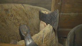 Καθημερινά αντικείμενα του αρχαίου ατόμου απόθεμα βίντεο