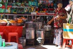 Καθημερινή ζωή σε Yangon, Βιρμανία, Ασία στοκ εικόνες