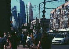 Καθημερινή Μόσχα στοκ φωτογραφίες