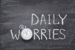 Καθημερινό ρολόι ανησυχιών στοκ φωτογραφίες