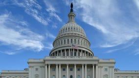 Καθιέρωση του πυροβολισμού του κτηρίου Capitol απόθεμα βίντεο