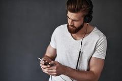 Καθιέρωση το playlist του Στοκ Εικόνα