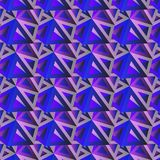 Καθιερώνον τη μόδα οριζόντιο γεωμετρικό υπόβαθρο, τομέας σχεδίων τριγώνων στοκ εικόνα