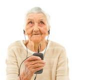Καθιερώνον τη μόδα grandma Στοκ φωτογραφία με δικαίωμα ελεύθερης χρήσης