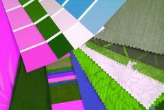 Καθιερώνουσα τη μόδα επιλογή σχεδίου χρώματος Στοκ Εικόνα