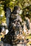 Καθισμένος άγγελος Στοκ Φωτογραφία