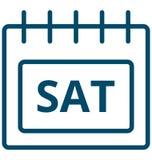 Καθισμένος, διανυσματικό εικονίδιο ημέρας γεγονότος Σαββάτου ειδικό που μπορεί να τροποποιηθεί εύκολα ή να εκδώσει ελεύθερη απεικόνιση δικαιώματος