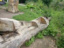 Καθισμένος διπλάσιο κορμός στοκ φωτογραφία με δικαίωμα ελεύθερης χρήσης
