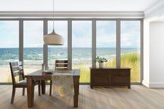 Καθιστικό με Firniture Στοκ φωτογραφίες με δικαίωμα ελεύθερης χρήσης