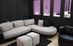 καθιστικό σύγχρονο Στοκ φωτογραφία με δικαίωμα ελεύθερης χρήσης