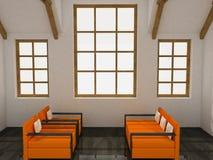 καθιστικό Στοκ φωτογραφία με δικαίωμα ελεύθερης χρήσης