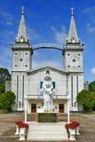 Καθολική εκκλησία Αγίου Anna Nong Saeng, θρησκευτικό ορόσημο Nakhon Phanom που χτίζεται το 1926 από τους καθολικούς παπάδες Στοκ Φωτογραφίες