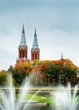 καθολική εκκλησία στοκ εικόνα