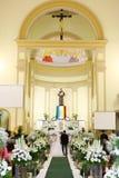 καθολικός γάμος Στοκ φωτογραφία με δικαίωμα ελεύθερης χρήσης