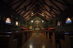 Καθολικό άδυτο - εσωτερικό Στοκ φωτογραφία με δικαίωμα ελεύθερης χρήσης
