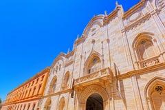 Καθολικό πανεπιστήμιο της Βαλένθια SAN Vicente Martir στη Βαλένθια στοκ εικόνες με δικαίωμα ελεύθερης χρήσης