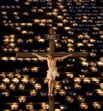 καθολικό προσκύνημα ελέ&omic Στοκ Εικόνες