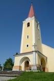 καθολικό χωριό malzenice εκκλη&sigma Στοκ Φωτογραφίες