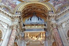 καθολικό όργανο εκκλησ Στοκ Εικόνα
