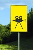 καθορίζοντας βίντεο σημ&al Στοκ Εικόνες