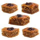 Καθορισμένα ασιατικά γλυκά Στοκ Εικόνα