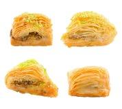 Καθορισμένα ασιατικά γλυκά Στοκ φωτογραφία με δικαίωμα ελεύθερης χρήσης