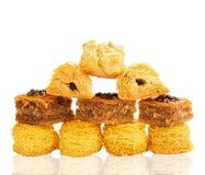 Καθορισμένα ασιατικά γλυκά Στοκ Εικόνες