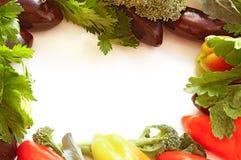 καθορισμένα λαχανικά πλαισίων Στοκ φωτογραφία με δικαίωμα ελεύθερης χρήσης