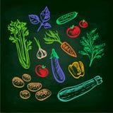 καθορισμένα λαχανικά Στοκ Εικόνες