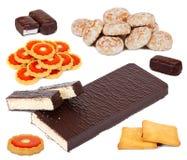 καθορισμένα γλυκά διάφο&rho Στοκ φωτογραφίες με δικαίωμα ελεύθερης χρήσης